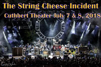 String Cheese Incident @ Cuthbert July 7 & 8, 2018
